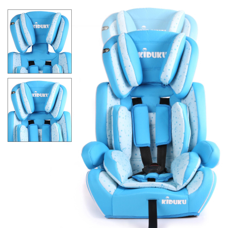 miniatura 27 - KIDUKU® Seggiolino auto cresce con il bambino sedile universale Gruppo 1+2+3