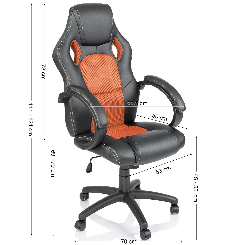 Racing Executive Swivel Office Chair Computer Seat Luxury