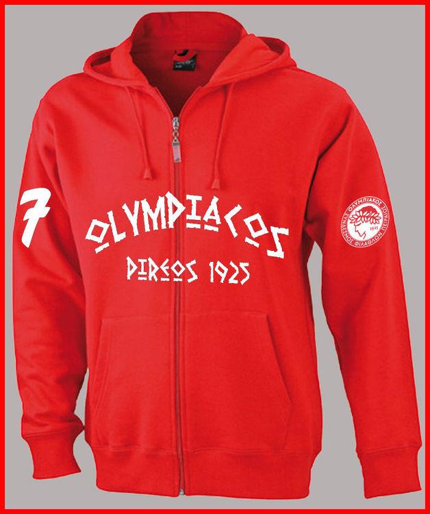 Details zu Olympiakos Piräus Sweatjacke Sweatshirt Jacke Hellas Greece Super League