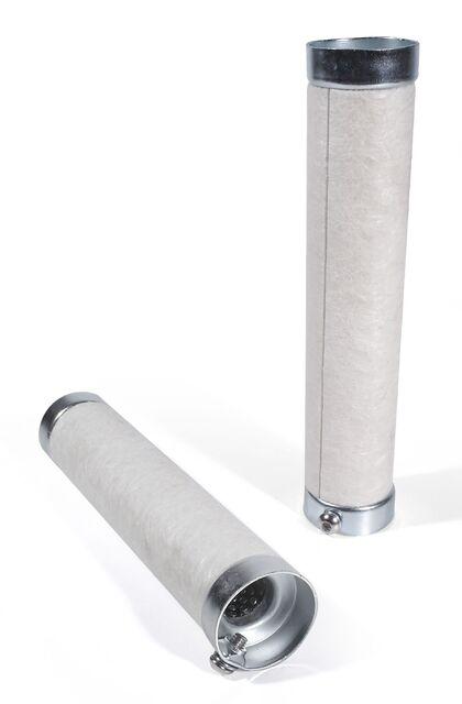 Universal Motorrad Auspuff Schalld/ämpfer Einsatz Baffle DB Killer d=40-41mm L=200mm