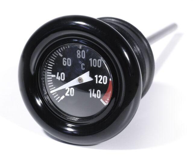Öl Messstab Celsius Temperatur Peilstab für Harley-Davidson Softail Thermometer