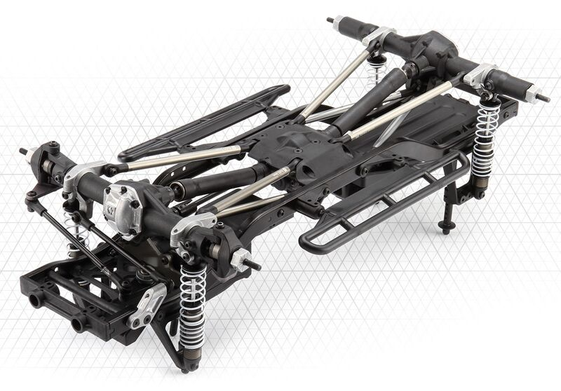 HPI 1:10 RC Venture Scale Builder Kit Crawler Bausatz 117255