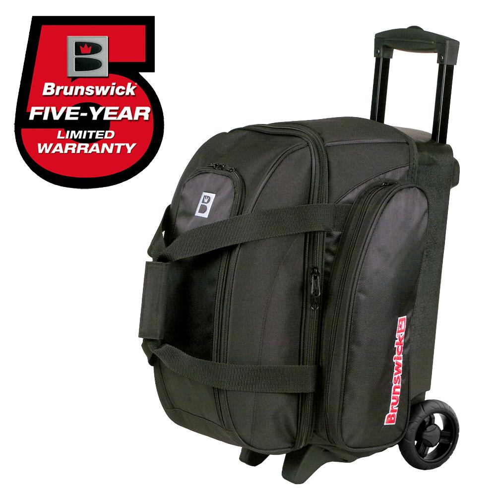 Bowling-Ball-Tasche-Double-Roller-Brunswick-Gear-Bag-Platz-fuer-Bowlingschuhe Indexbild 10
