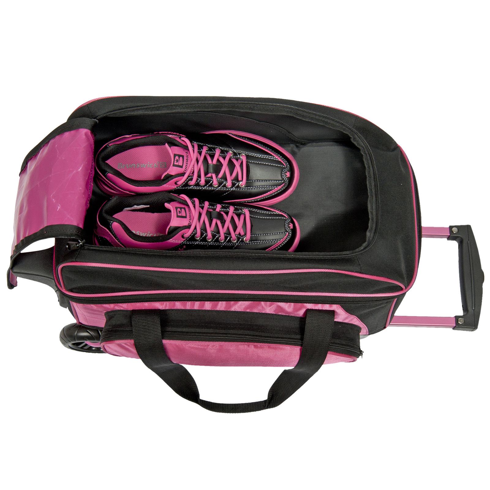 Bowling-Ball-Tasche-Double-Roller-Brunswick-Gear-Bag-Platz-fuer-Bowlingschuhe Indexbild 16