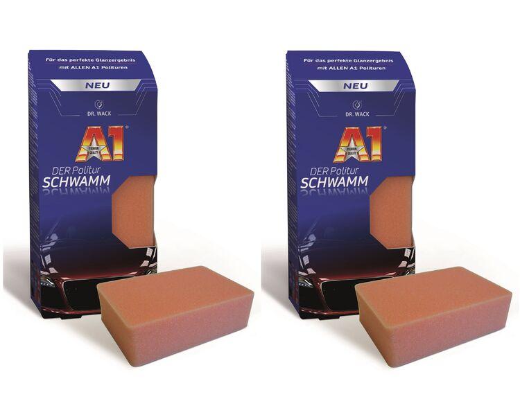 Satz 5 Zoll Polierschwamm Polieren Pad Kit Wachsen Auto Auto Polierer 4 Teile