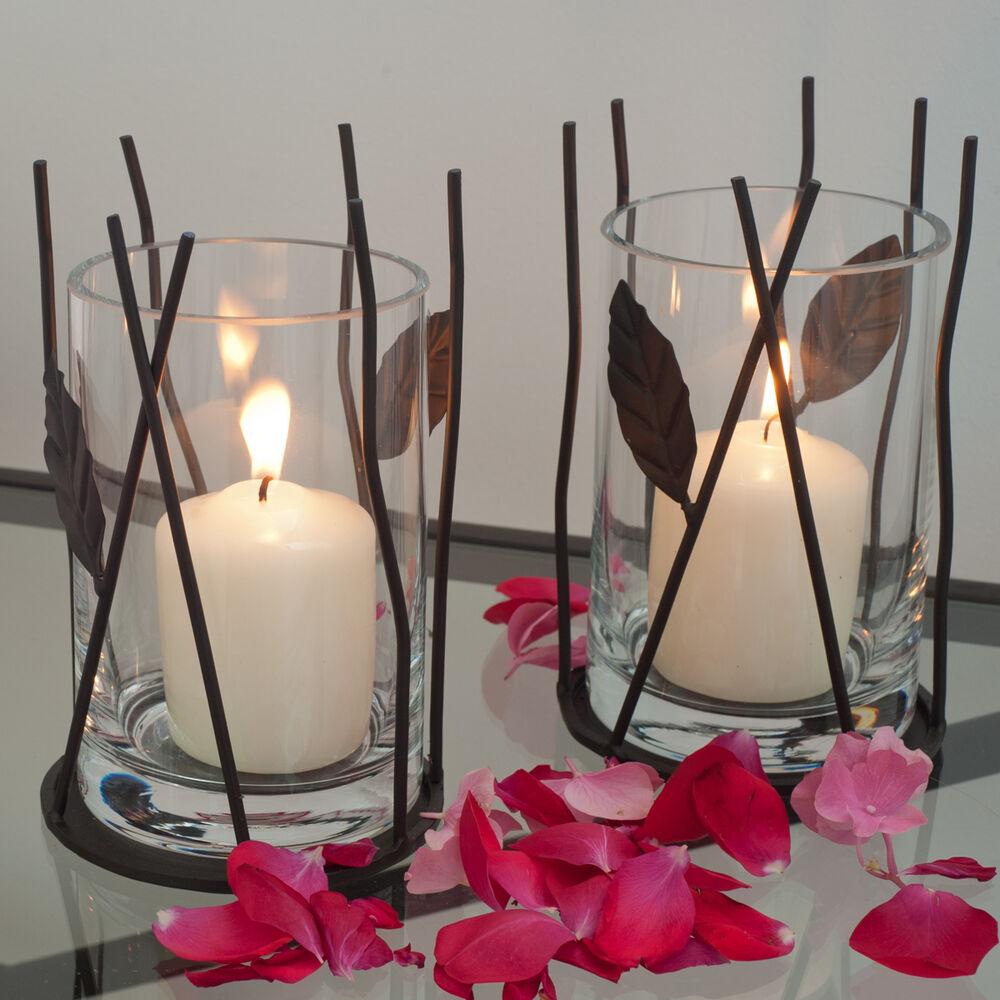 Windlicht Laterne Kerzenleuchter Tischlicht Kerzenständer Kerzenlicht