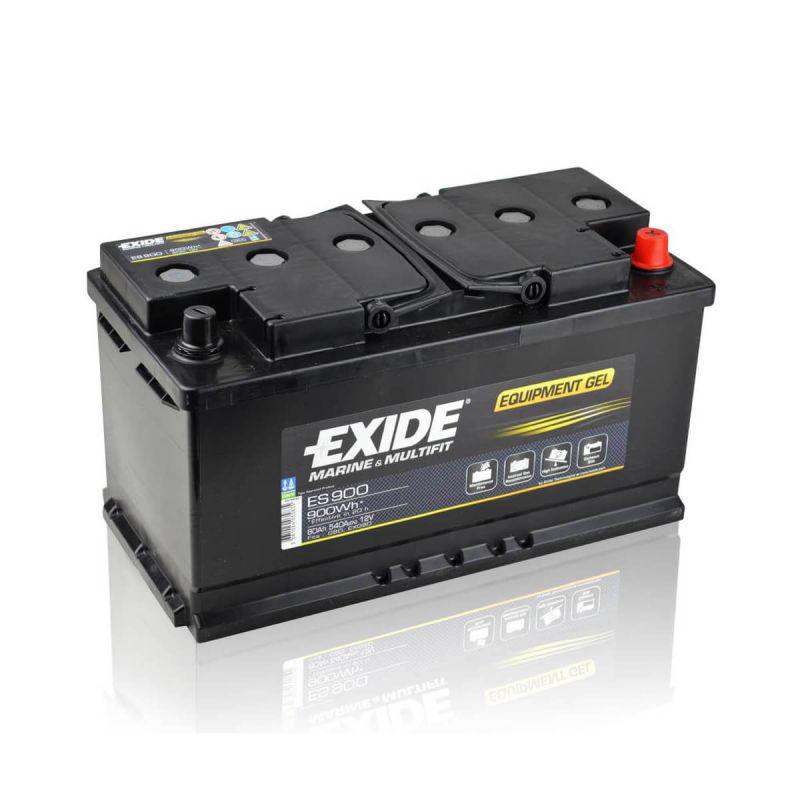 exide equipment gel es900 g80 80ah 12v gelbatterie ebay. Black Bedroom Furniture Sets. Home Design Ideas