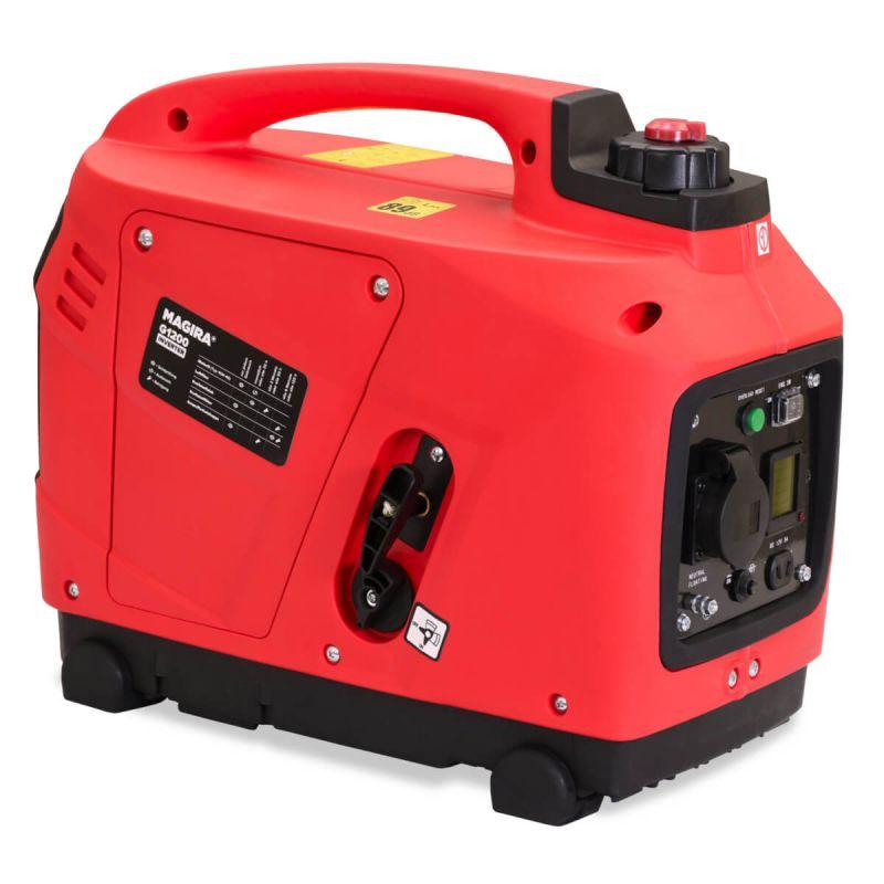 Inverter Stromerzeuger 1200W Digitaler Strom Generator ...