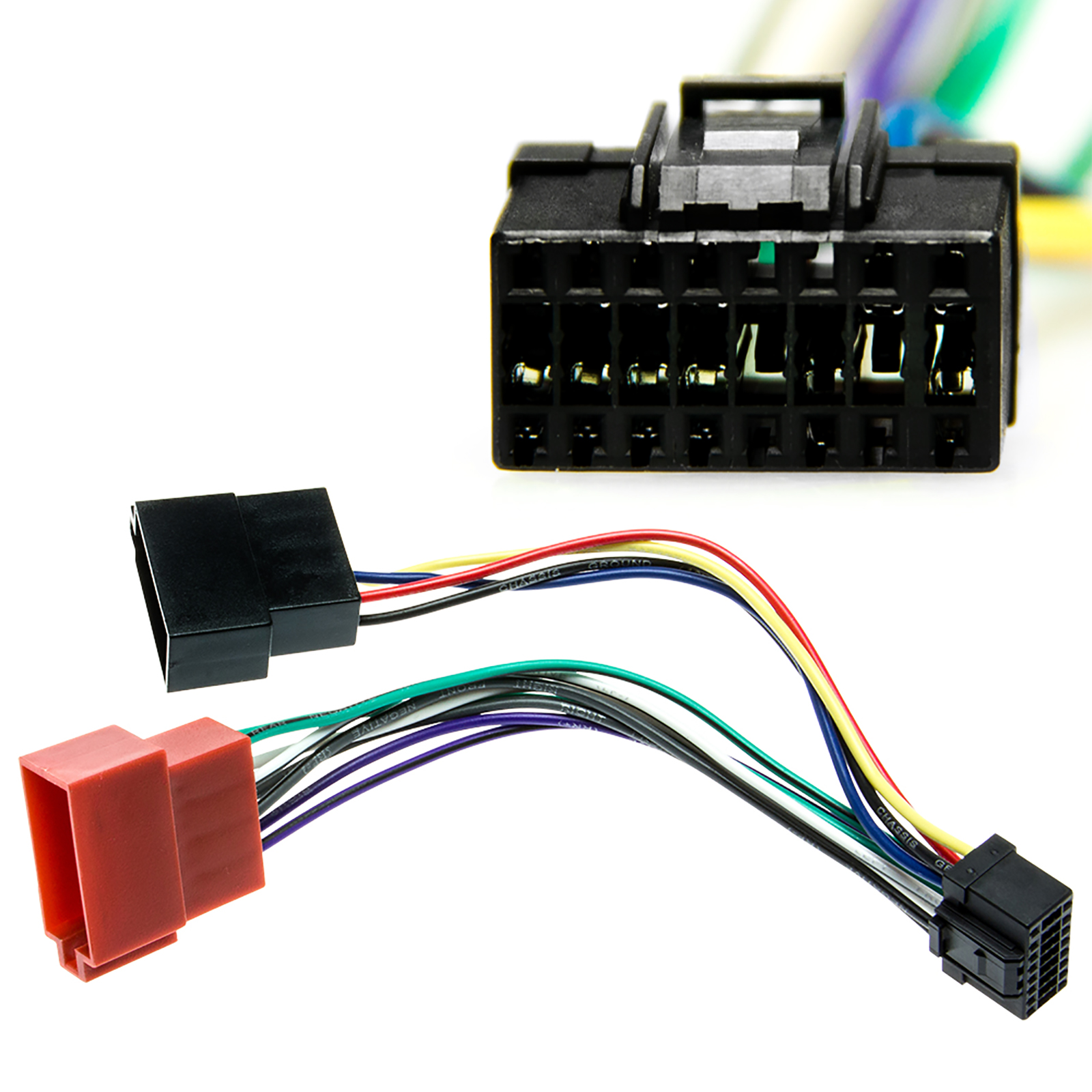 Pioneer Wiring Harness Car Stereo 16 Pin Wire Connector Details About Cable Plug Deh Radio Adapter And Play Din Iso