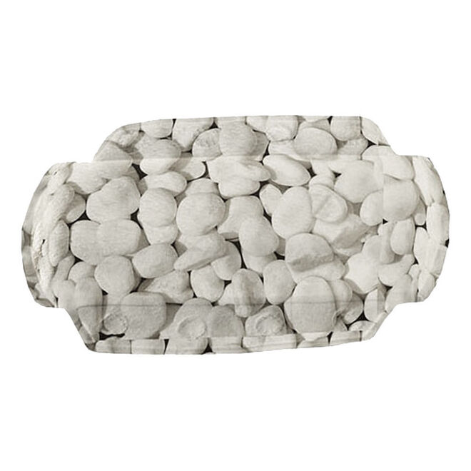 36x92cm AROSA Anthrazite Wannenmatte Badewanneneinlage von Kleine Wolke