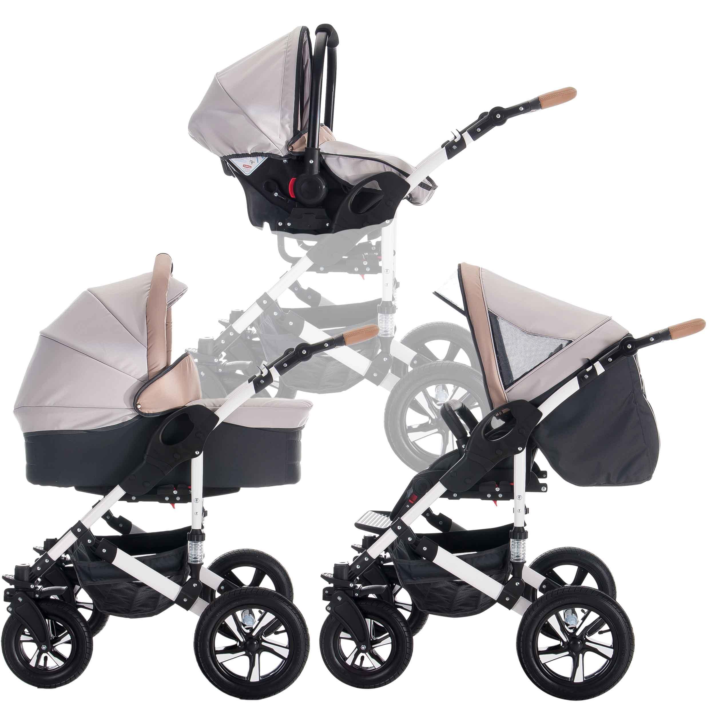 Bebebi modelo myvario 3 en 1 cochecito de ni o y silla de paseo ruedas de ebay - Silla de paseo 3 ruedas ...