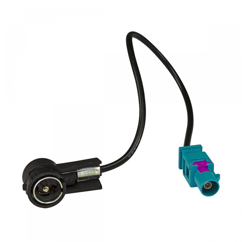 radioblende set f r bmw 3er e46 quadlock flachpin adapter. Black Bedroom Furniture Sets. Home Design Ideas