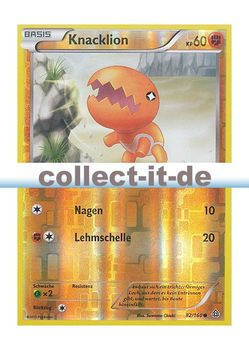 Pokemon XY Protoschock 26//160 Flemmli Reverse Holo Deutsch