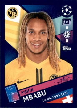 Topps Champions League 18//19 Sticker 549 Kevin Mbabu