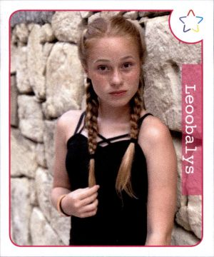 Sticker 33 Faye Montana Panini Webstars 2018 Girls