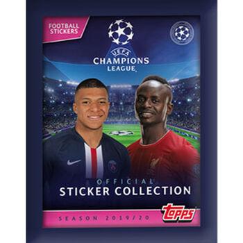 Topps Champions League Sticker 2018//2019 Sammelalbum 5 Tüten 18//19