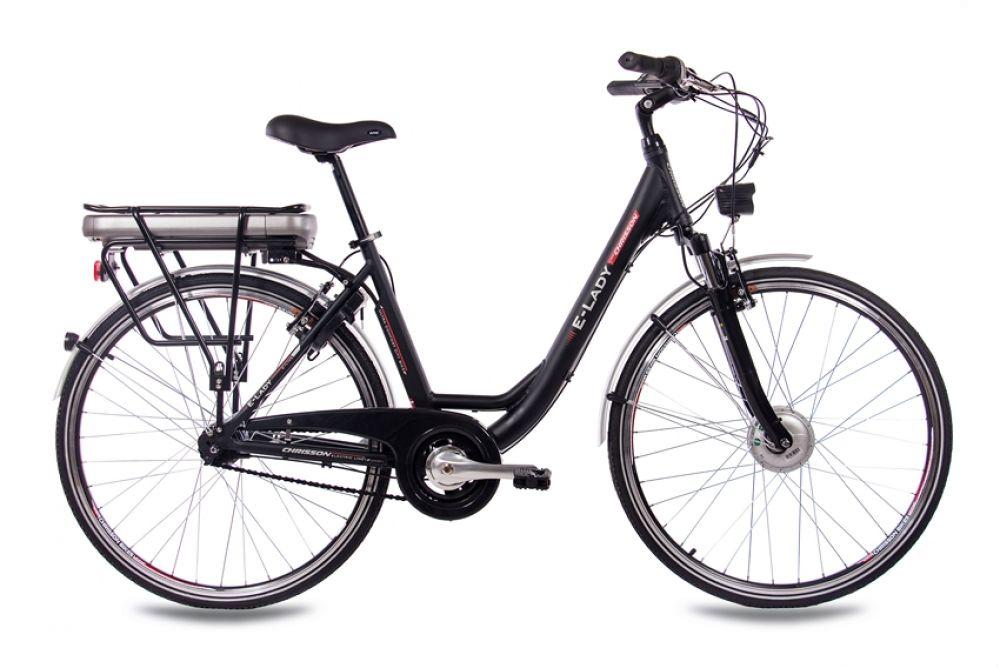 28 zoll elektrofahrrad e bike pedelec chrisson e lady mit. Black Bedroom Furniture Sets. Home Design Ideas