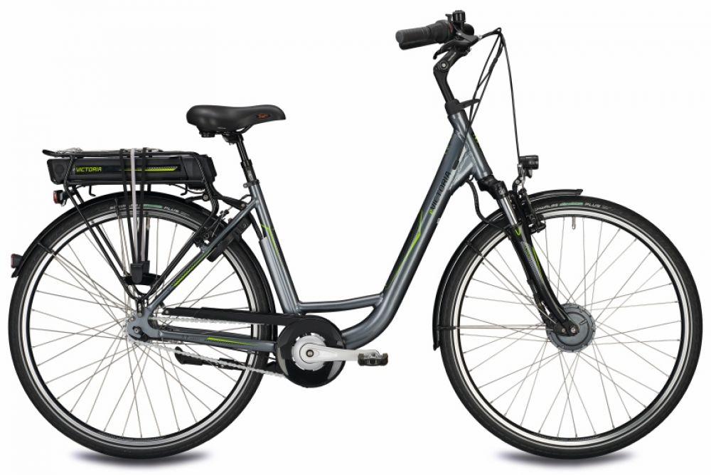 26 zoll damen elektrofahrrad e bike victoria e urban 3 1 7g nexus grau s 46cm ebay. Black Bedroom Furniture Sets. Home Design Ideas