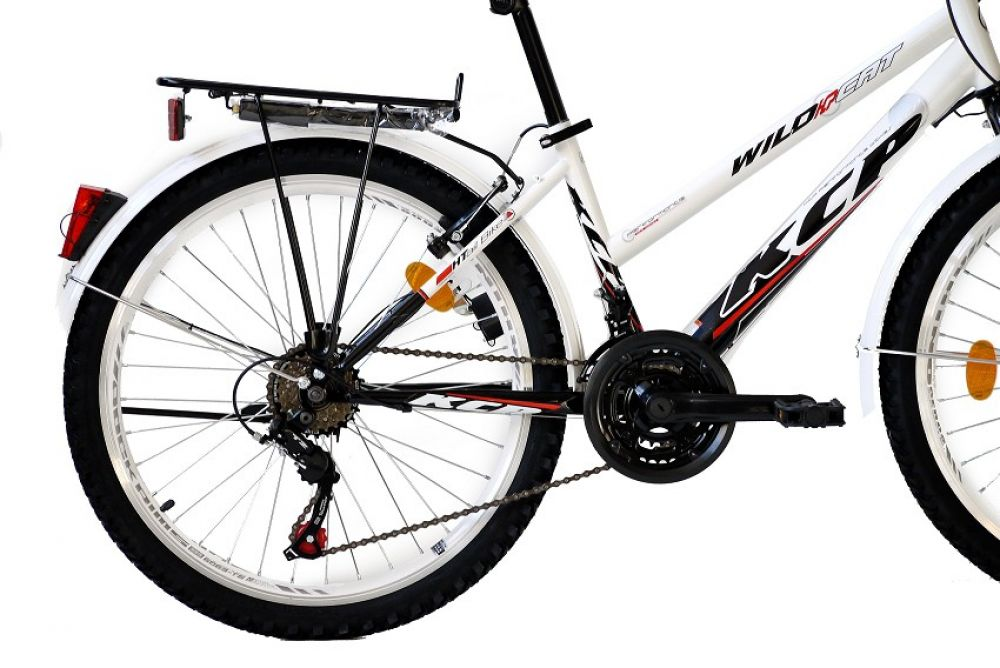 24 zoll city bike jugendrad fahrrad kcp wild cat damenrad. Black Bedroom Furniture Sets. Home Design Ideas