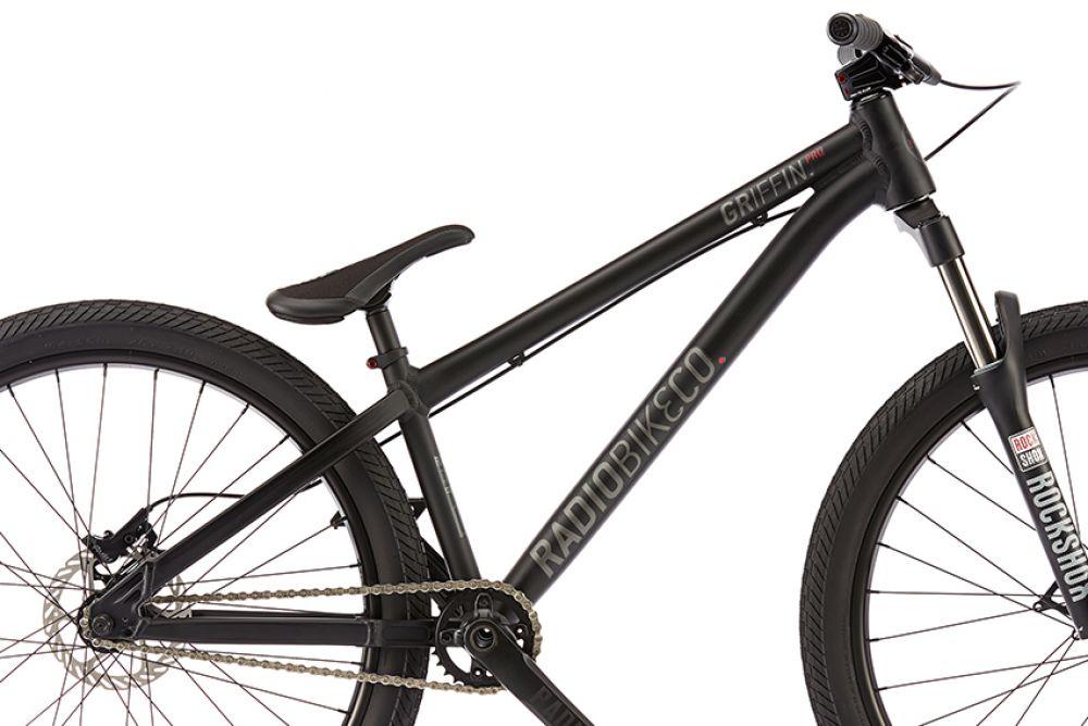 26 zoll profi dirt bike fahrrad radio griffin pro 2017. Black Bedroom Furniture Sets. Home Design Ideas