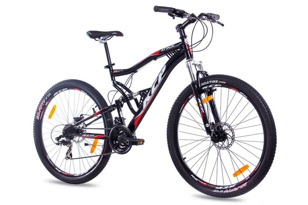 27,5 Zoll Mountainbike Fahrrad Bike Rad KCP ATTACK Unisex 21G ...