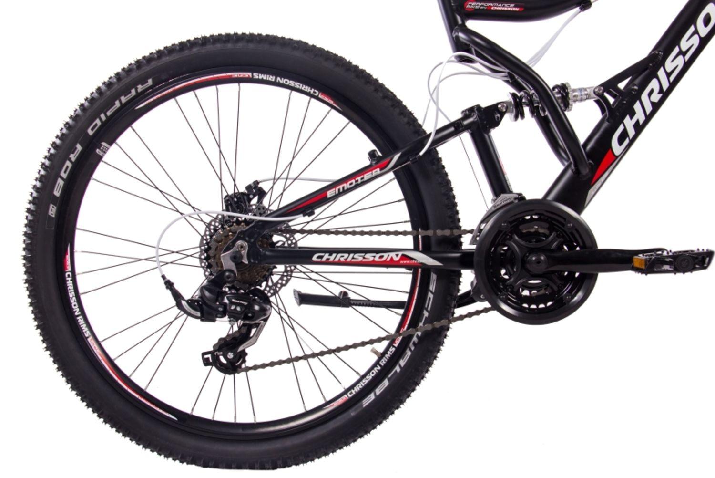 26 zoll alu mtb fully mountainbike chrisson emoter mit. Black Bedroom Furniture Sets. Home Design Ideas