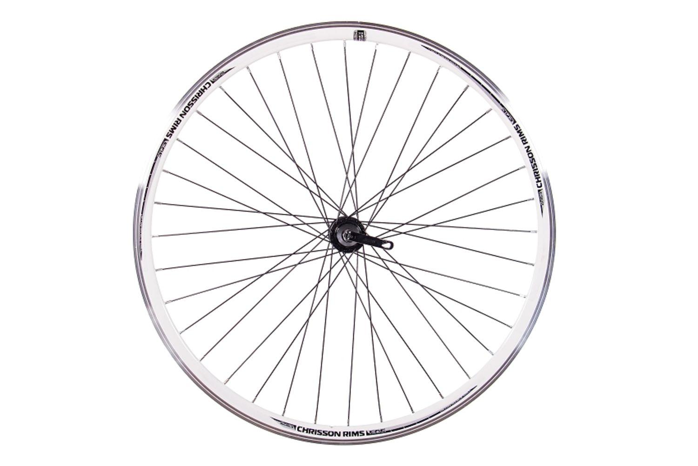 Fahrradteile & -komponenten Felgen CHRISSON Fahrrad Bike LAUFRAD VR HR 28 ETRTO 622 36 Speichen QR Naben Aerofelge