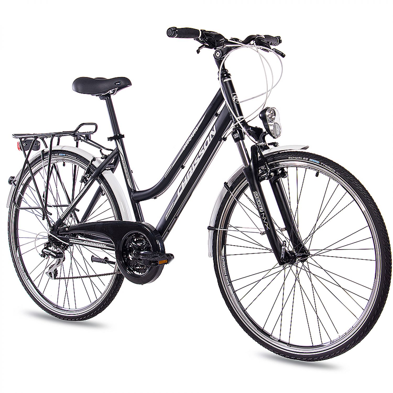 28 zoll city bike trekkingrad alu damenrad chrisson. Black Bedroom Furniture Sets. Home Design Ideas