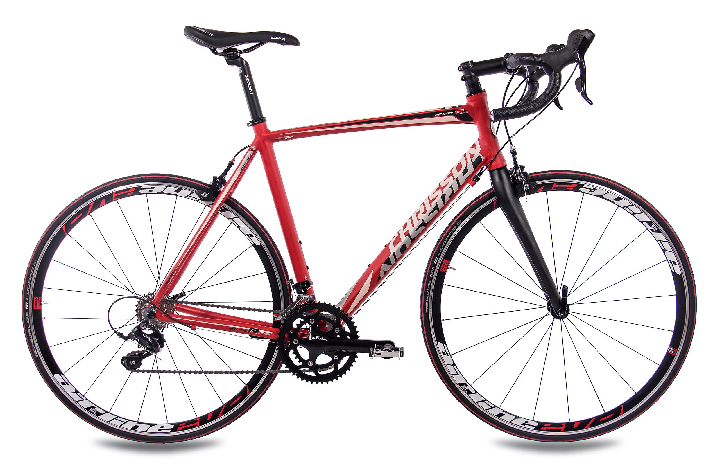 28-034-Zoll-ALU-Rennrad-Fahrrad-CHRISSON-RELOADER-mit-18G-SORA-CARBONGABEL-rot Indexbild 22