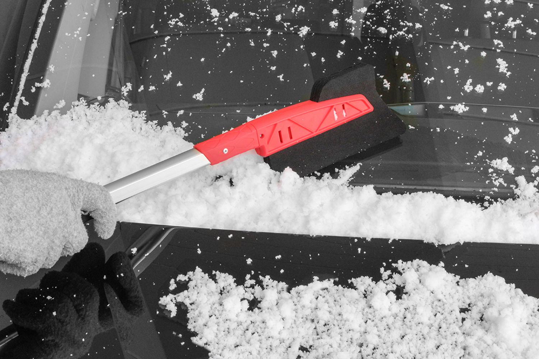 Raspador auto parabrisas filtro antideslizantes pinzamiento Metal Blade nieve-huevo