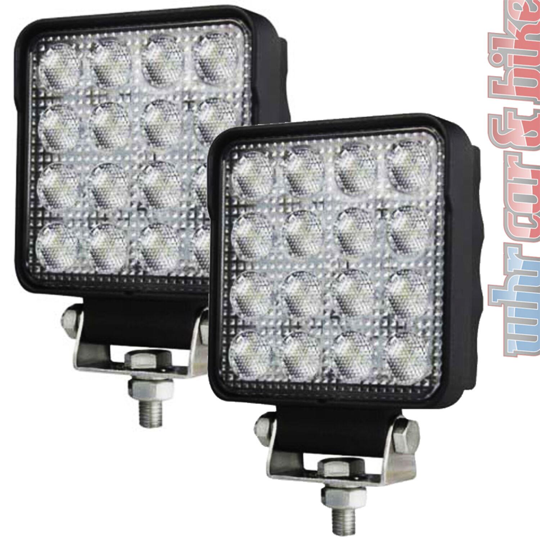 Hella LED Arbeitsscheinwerfer S2500 großflächige Ausleuchtung 2500lm 12V 24V
