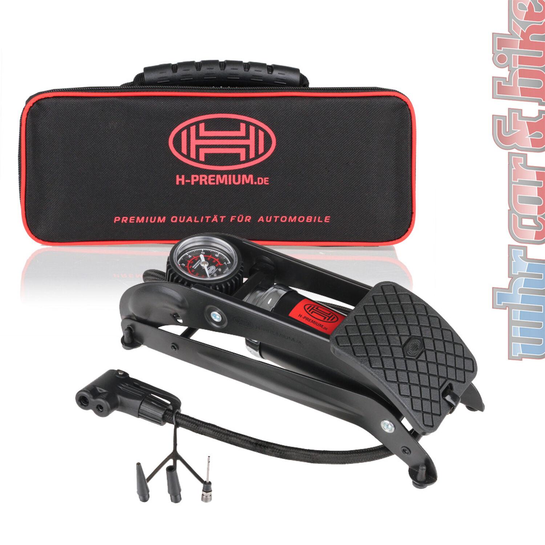 Manometer Heyner PedalPower Pro Premium 1-Zylinder Fußpumpe Fußluftpumpe 7bar