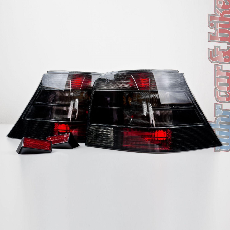hella magic color heckleuchten set vw golf 4 iv schwarz r ckleuchten ebay. Black Bedroom Furniture Sets. Home Design Ideas