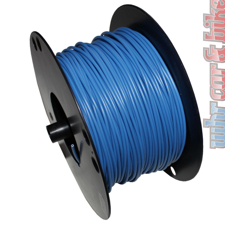 10m Hella KFZ-Kabel FLY Fahrzeugleitung 2,5 mm² weiß Kupfer 1-adrig