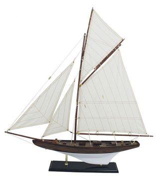 Modell einer Yacht der 30iger Jahre J Klasse Yacht G4161 Nostalgie Segelyacht