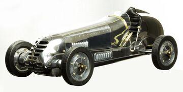 Mercedes Silberpfeil W25 Modell Rennwagen Spindizzy Modell Auto G642