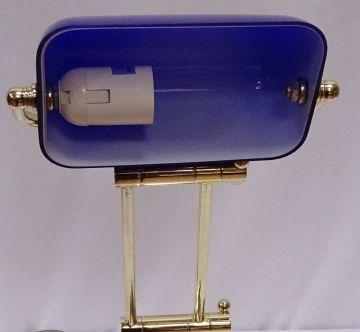 Jugendstil Lampenschirm Glasschirm Lampenglas 9 X 13,5cm  Mundgeblasen