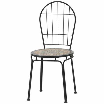 Mosaic Furniture in Mediterranean Style Table round 60 Cm. Linoows Garden Rijeka