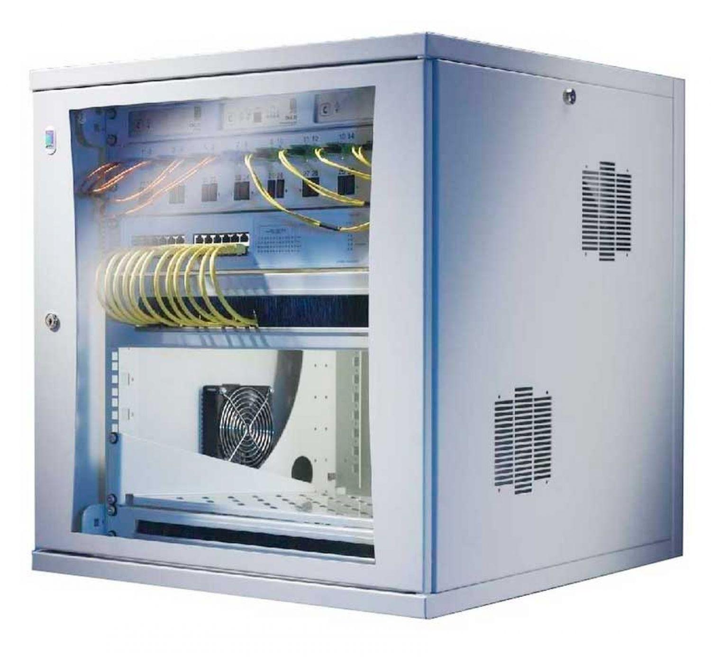 Rittal 19 Zoll Wandschrank Netzwerkschrank Flatbox 15 He 700 Mm