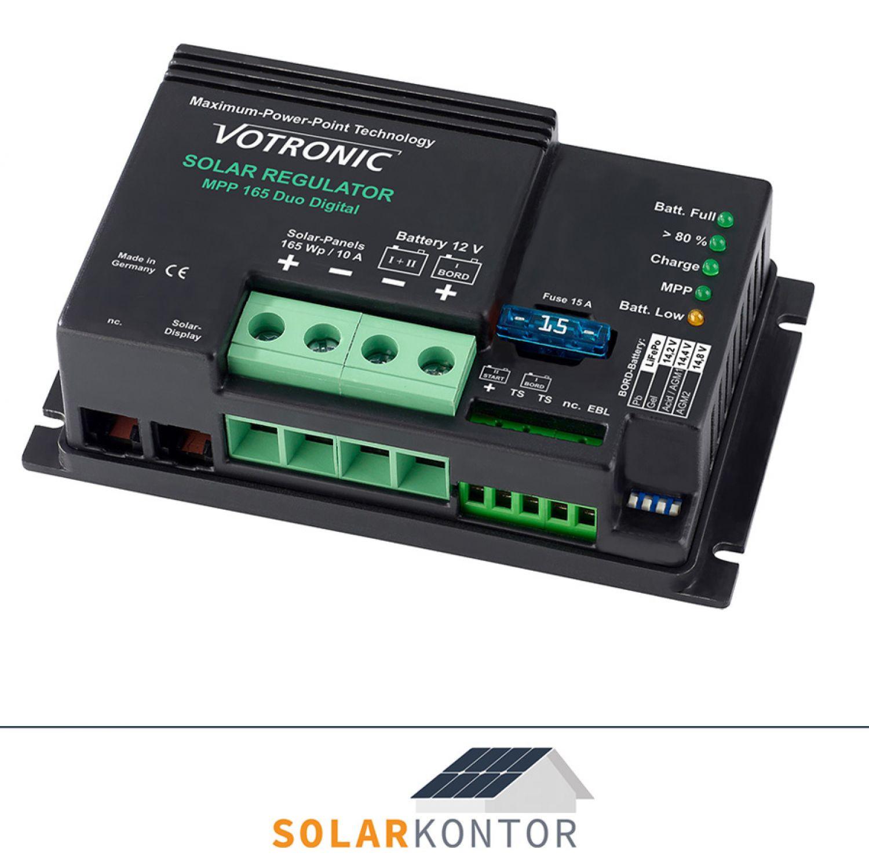Votronic MPP 165 Duo 12V Solar Laderegler 165W 11A - Artnr. 1710   eBay
