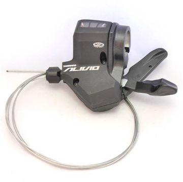 Shimano Alivio ST-M430 links 3-Fach 3x9 Bremshebel Schalthebel Rapidfire Plus