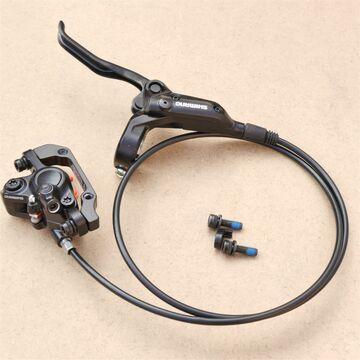 Vorderrad schwarz Shimano Deore Bremsen Set BL-M355// BR-M355-900mm NEU
