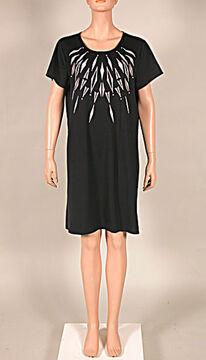 NANSO Damen Big Shirt Länge 95 cm Taival