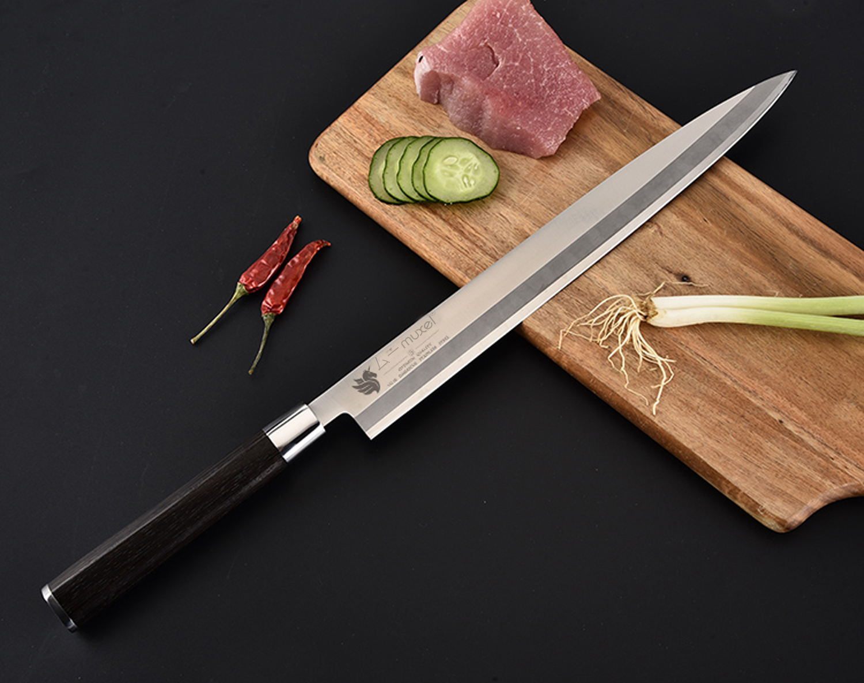 Japan Fischmesser Filetiermesser Anglermesser Extra lange Klinge 27,5 cm starr