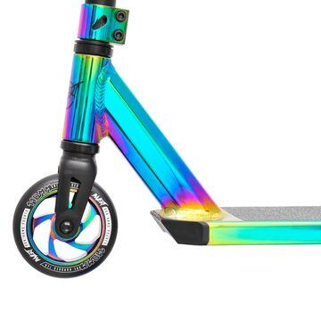 Neo chrome oilslick Scooter Tretroller Invert Stunt Scooter V2-TS-2
