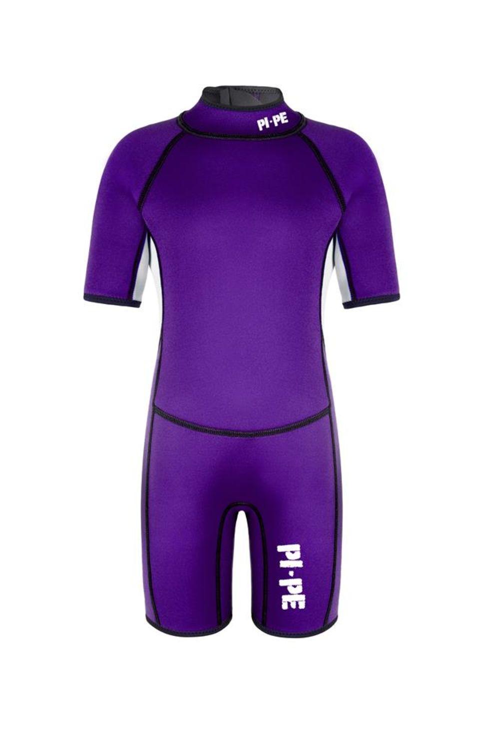 PI-PE Neoprenanzug Active Spring S//S S Red Surfanzug Schwimmanzug Tauchanzug