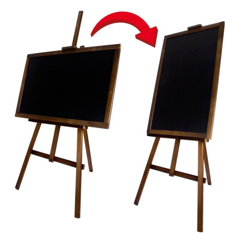 XXXL Staffelei Kundenstopper Holz Tafel Aufsteller Werbetafel ...