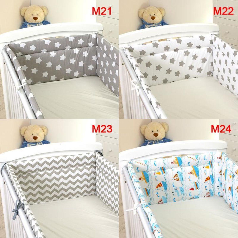 Nestchen mit Kopfschutz f/ür 140x70 Bett 420x30cm M22