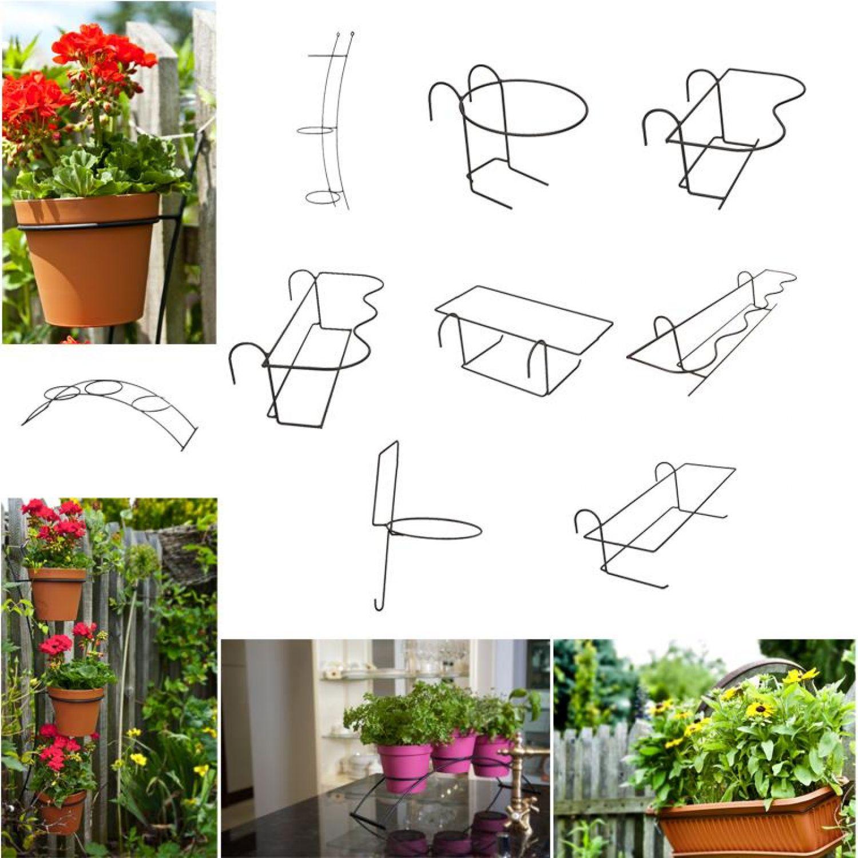 presina fiore supporto per fiori Staffa per fioriera E VASI FIORI ...