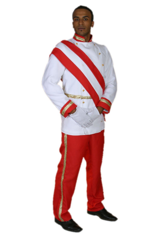 Kostüm als Prinz William Kronprinz Hochzeit Uniform Fasching Karneval Mottoparty